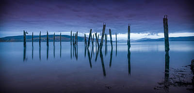 Photograph - Salen Pier 1 by Peter OReilly