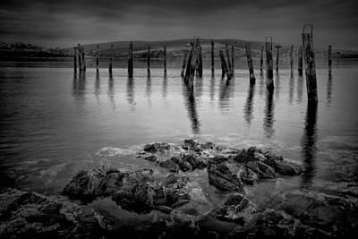 Photograph - Salen Pier 2 by Peter OReilly