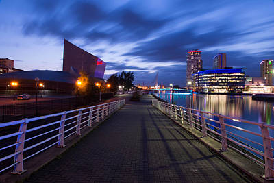 Salford Quays Art Print by Abdul  Rahman