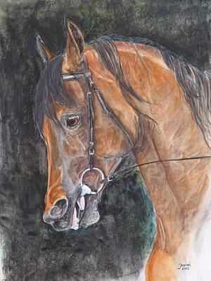 Salih Amir Art Print by Janina  Suuronen