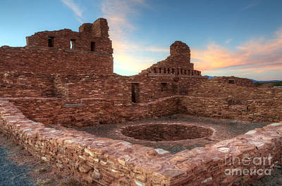 Salinas Pueblo Mission Abo Ruin Art Print by Bob Christopher