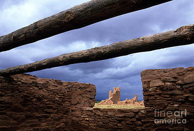 Salinas Pueblo Mission Abo Ruins 5 Art Print by Bob Christopher