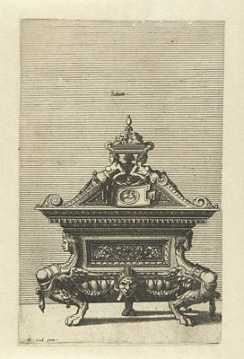 Saliniim, Johannes Or Lucas Van Doetechum Print by Johannes Or Lucas Van Doetechum And Hans Vredeman De Vries And Hieronymus Cock