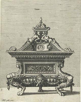 Salinium, Johannes Or Lucas Van Doetechum Print by Johannes Or Lucas Van Doetechum And Hans Vredeman De Vries And Philips Galle