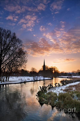 Wiltshire Photograph - Salisbury Cathedral 1 by Rod McLean