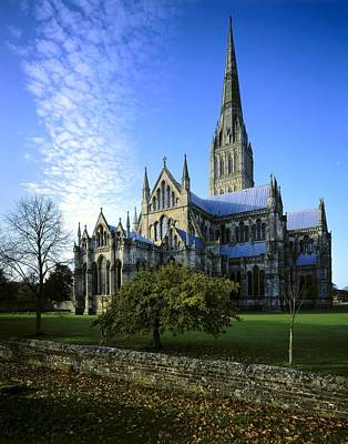 Salisbury Cathedral. 1220-1258. United Art Print