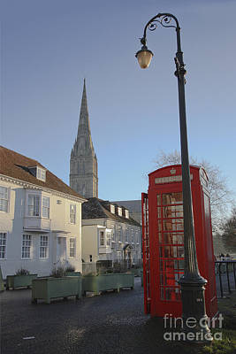 Photograph - Salisbury Cathedral Close by Terri Waters