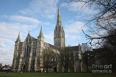 Photograph - Salisbury Cathedral by Terri Waters