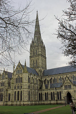Photograph - Salisbury Cathedral by Tony Murtagh