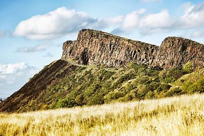 Photograph - Salisbury Crags by Jean-Noel Nicolas