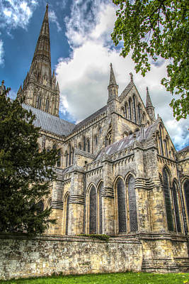 Salisbury In The Morning Art Print