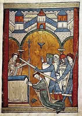 Thomas Becket Photograph - Salisbury, John Of H.115-1180 Becket by Everett