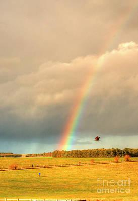 Photograph - Salisbury Rainbow 2 by Deborah Smolinske