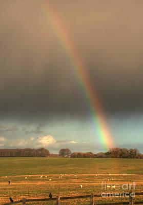 Photograph - Salisbury Rainbow by Deborah Smolinske