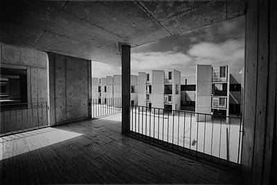 Photograph - Salk From A Balcony by Alan Roberts