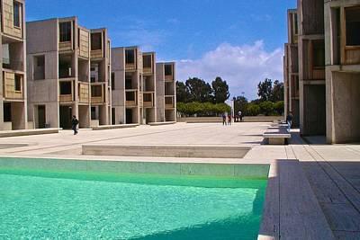 Photograph - Salk Institute La Jolla by Ricardo J Ruiz de Porras