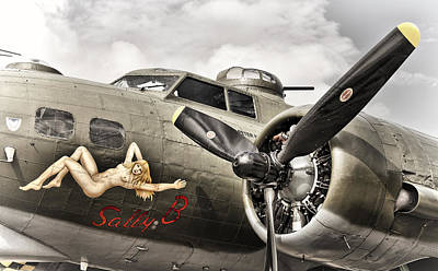 Photograph - Sally B by Ian Merton