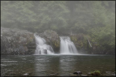 Photograph - Salmon Falls Foggy Morning by Erika Fawcett