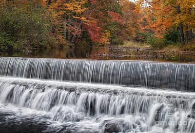 Salmon Falls Photograph - Salmon Falls River Acton Maine by Scott Thorp