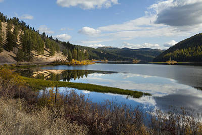 Photograph - Salmon Lake by Fran Riley