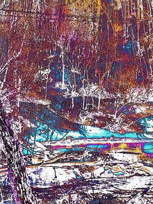 Photograph - Salmon Stream Augusta  by Expressionistart studio Priscilla Batzell