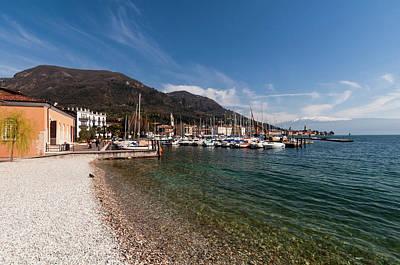 Salo, Lago Di Garda, Lombardia, Italy Art Print