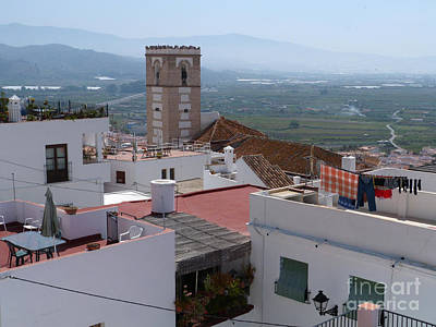Photograph - Salobrena Rooftops by Phil Banks