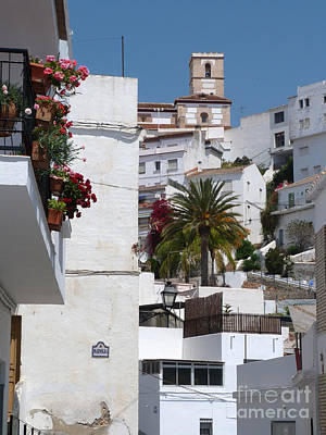 Photograph - Salobrena Town by Phil Banks