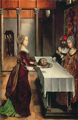 Bible Photograph - Salome by Juan de Flandes