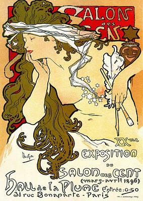 Salon Des Cents Art Print
