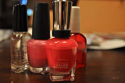 Photograph - Salon Manicure by Paulette B Wright