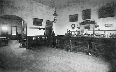 Old West Saloon Photograph - Saloon C. 1890 by Daniel Hagerman