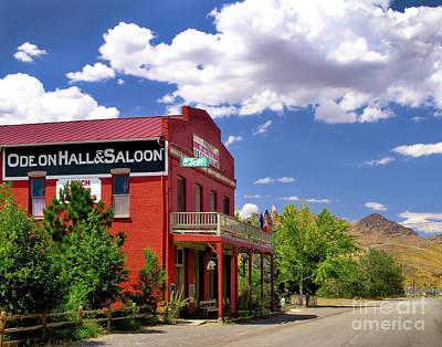 Saloon - Dayton - Nevada Art Print