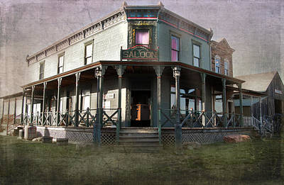 Photograph - Saloon by Judy Hall-Folde