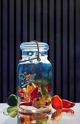 Salsa Art Print by Arlene Steinberg