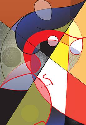 Digital Art - Salsa by David Ralph