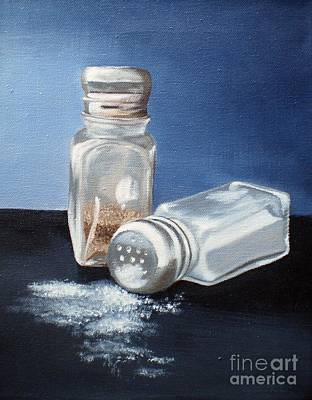 Salt And Pepper Art Print by Eleonora Perlic