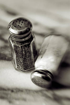 Photograph - Salt And Pepper by Matthew Pace
