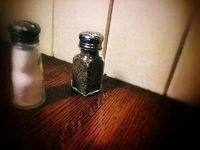 Eatery Digital Art - Salt And Pepper by Olivier Calas