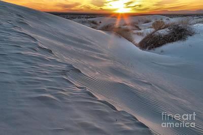 Photograph - Salt Basin Sunset by Adam Jewell