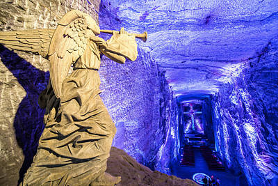 Christian Sacred Photograph - Salt Cathedral Angel by Jess Kraft