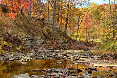 Photograph - Salt Creek by Jack R Perry