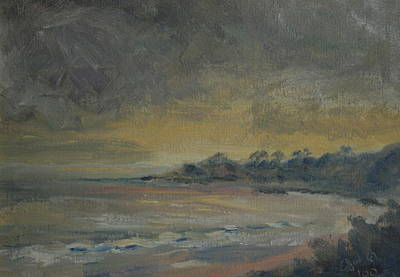 Painting - Salt Creek Sunset by Edward White