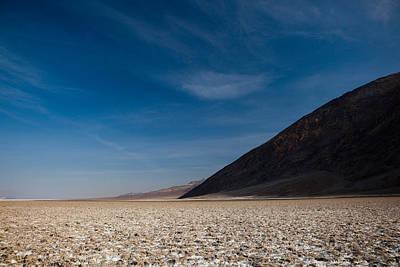 Salt Flat, Western Hemisphere, Badwater Art Print