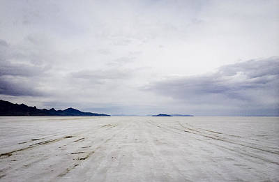 Salt Flats And Clouds Original by Helix Games Photography