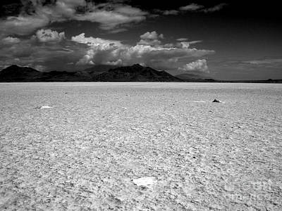 Photograph - Salt Flats Utah Two by A K Dayton