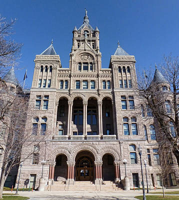 Photograph - Salt Lake City - City Hall - 2 by Ely Arsha