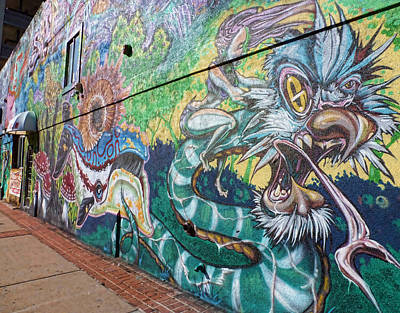 Photograph - Salt Lake City - Mural 2 by Ely Arsha