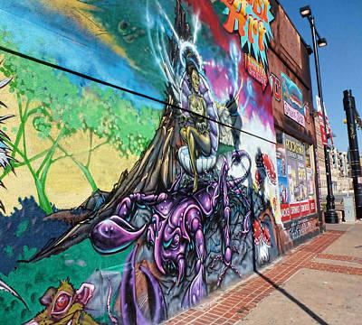 Photograph - Salt Lake City - Mural 3 by Ely Arsha