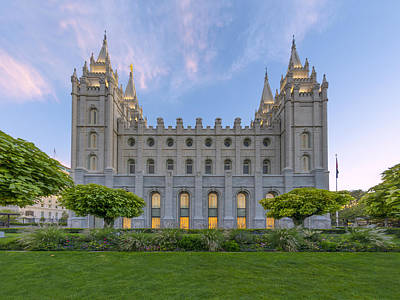 Photograph - Salt Lake City Profile by Dustin  LeFevre